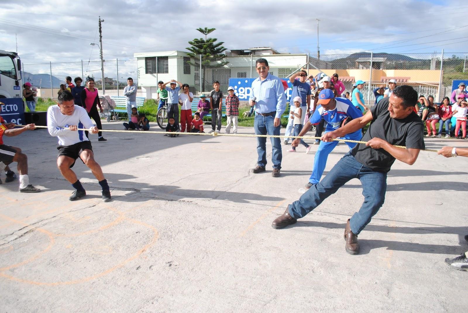 Los Juegos Tradicionales Se Rescatan En El Barrio El Milagro