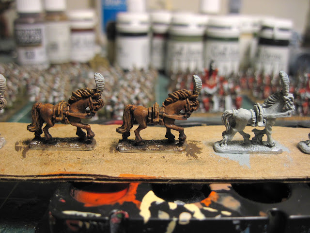High Elf Chariot Horses