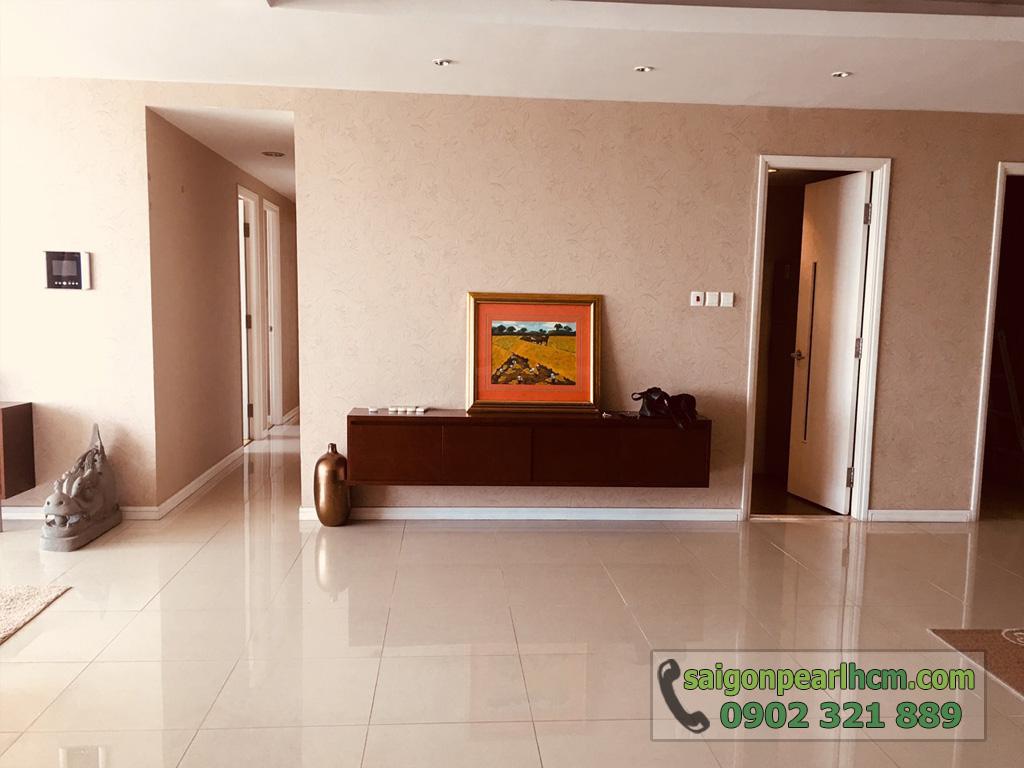 Cho thuê Saigon Pearl căn hộ 4 phòng ngủ 206m2 Ruby 1 view sông Sài Gòn - hình 12