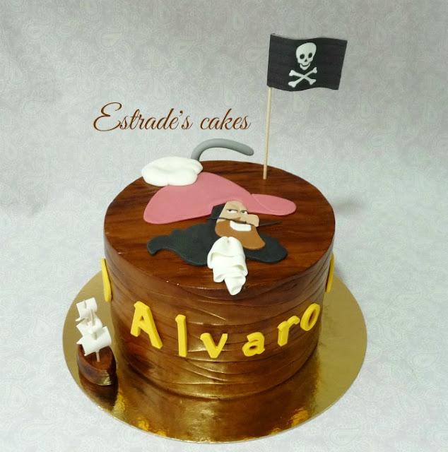 tarta del capitán garfio 1