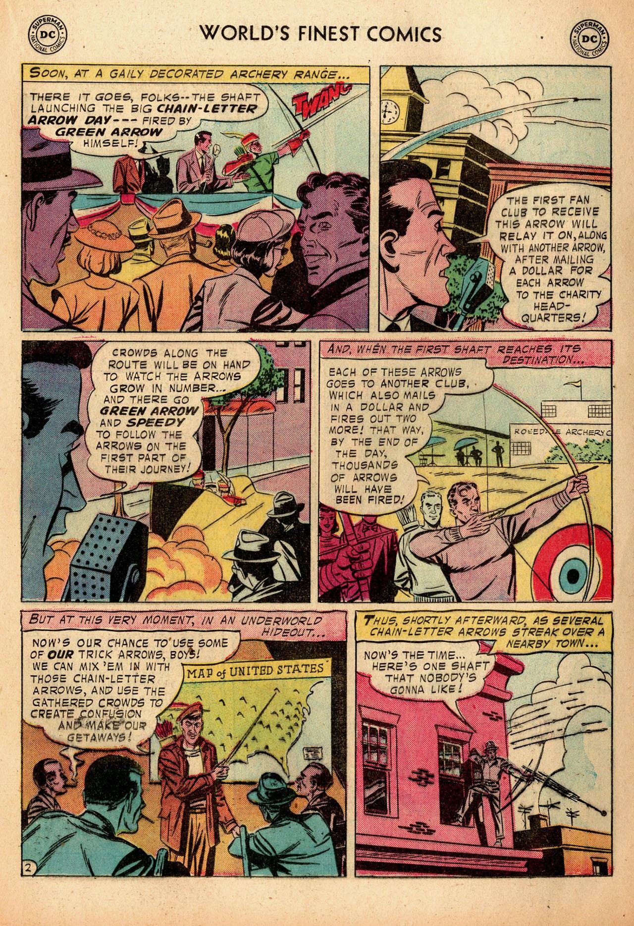 Read online World's Finest Comics comic -  Issue #91 - 19