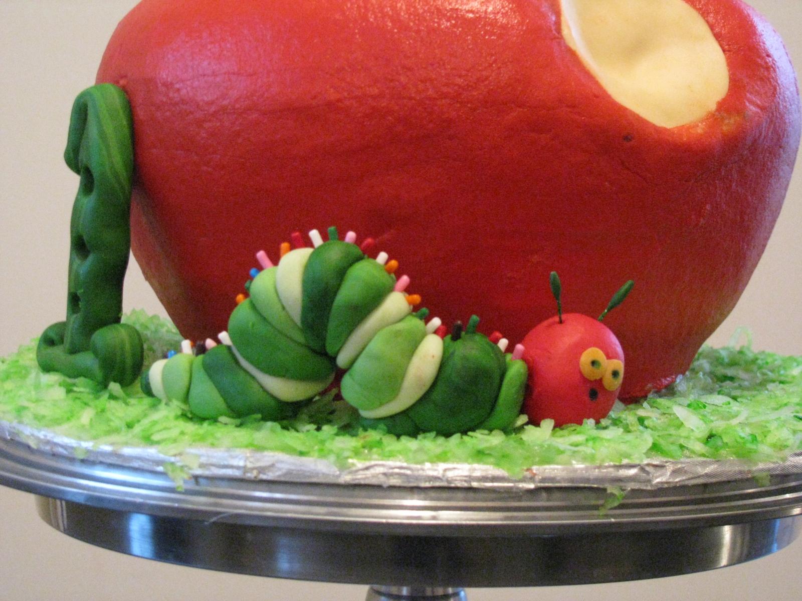 Ardis Cakes Very Hungry Caterpillar First Birthday Cake