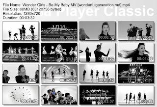 Mv Be My Baby Wonder Girls Menjadi Mv Korea Yang Paling Banyak Ditonton Di Tahun