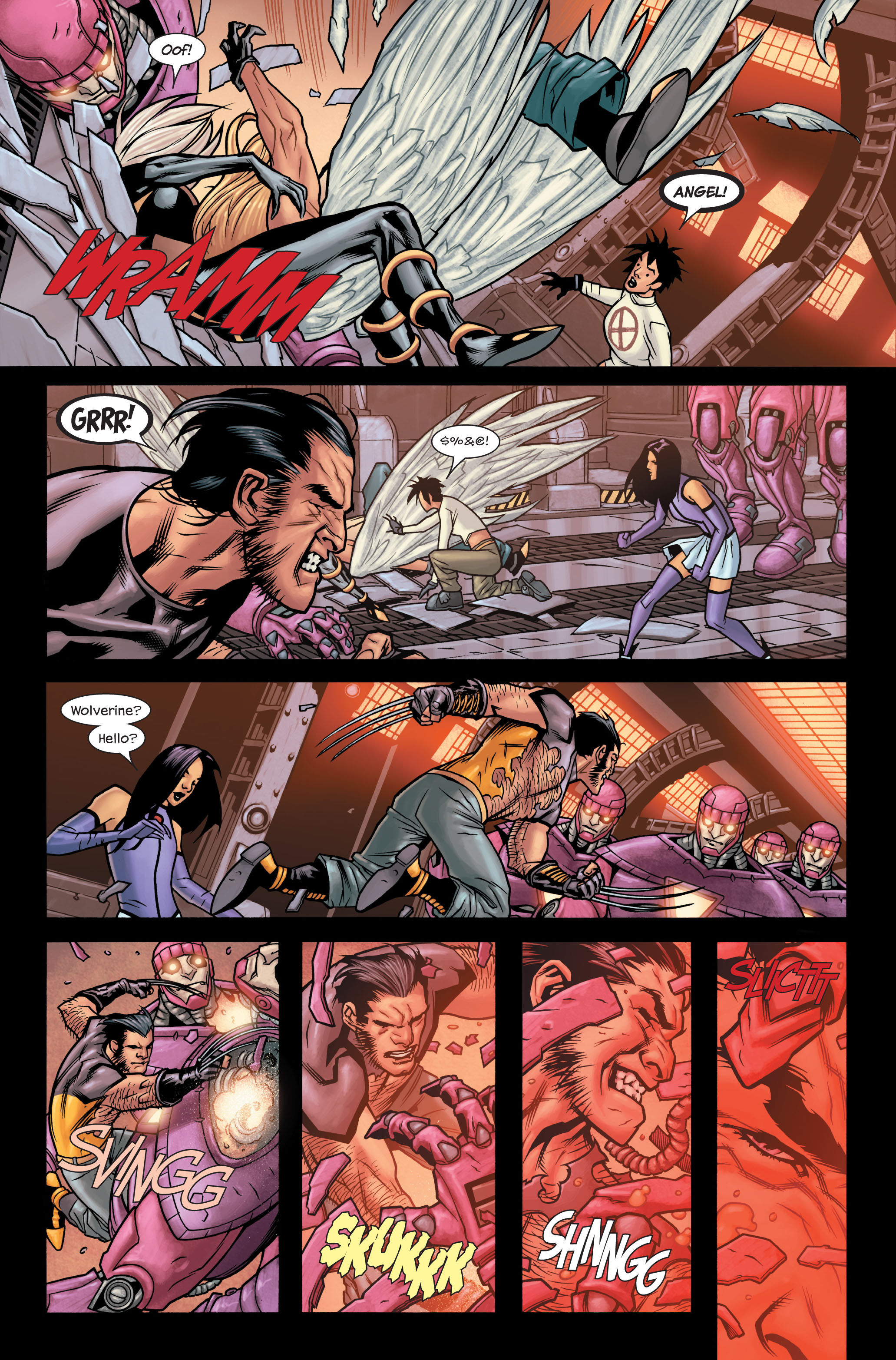 Read online Ultimate X-Men comic -  Issue #86 - 19