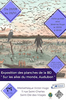 Une expo BD pour le FIG 2017; laureat; exposition; sur les ailes du monde; audubon; peintre; bd;