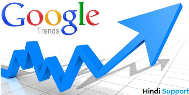 google trend ki help