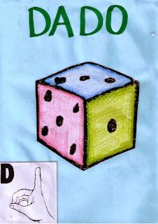 alfabeto libras sinais D