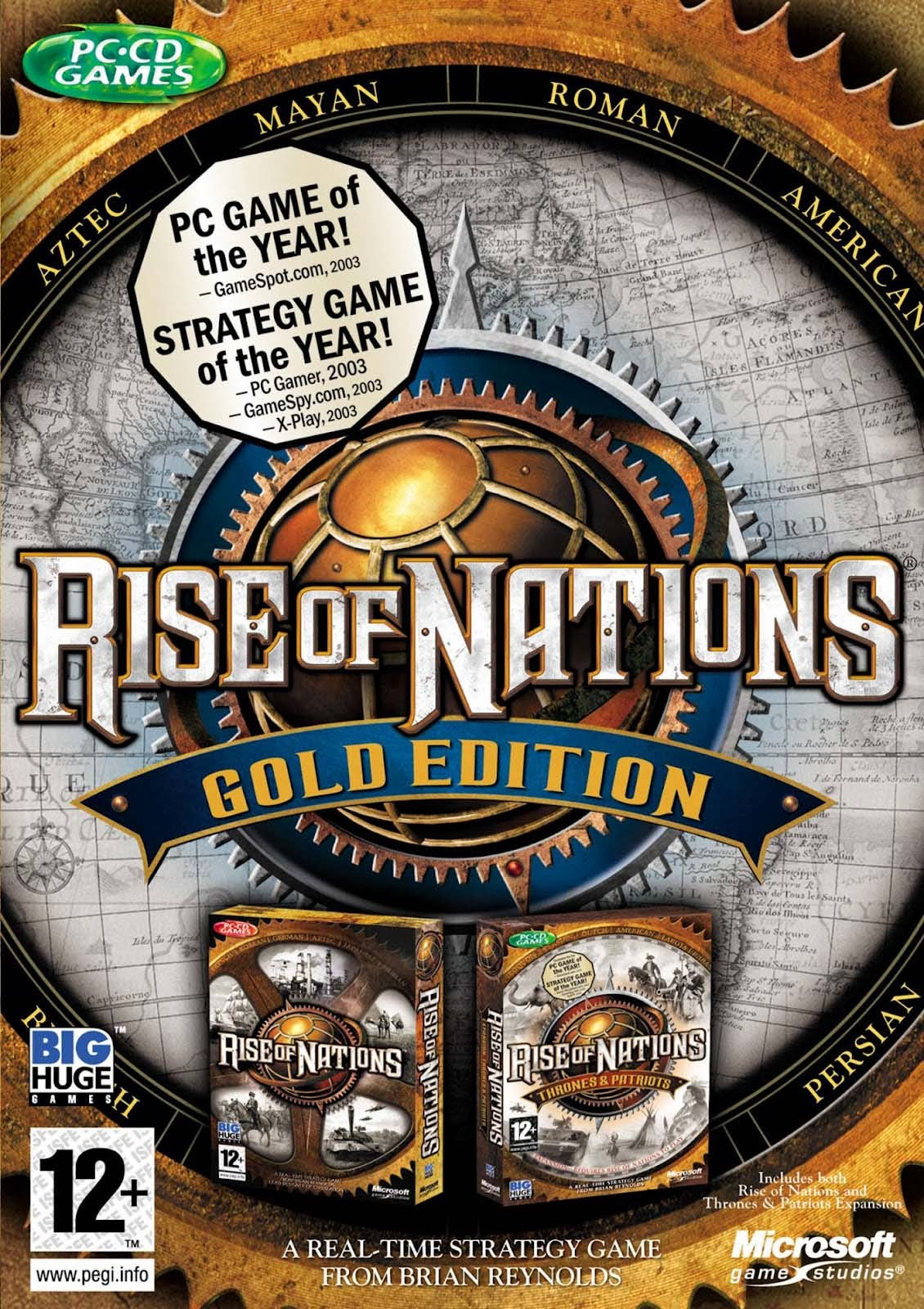 Rise of nations thrones and patriots download full version free.