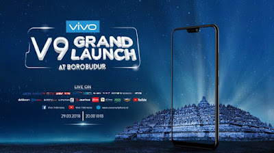 Vivo V9 Grand Launch at Borobudur