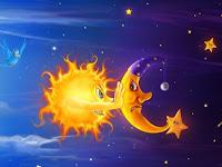 Humor : Bulan dan Matahari, Mana yang Lebih Penting?