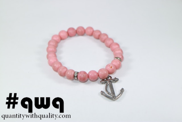 Titanium Collection with Pink Phyrus and Anchor Statue