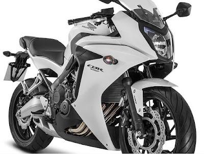 2016 Honda CBR650F ABS front look