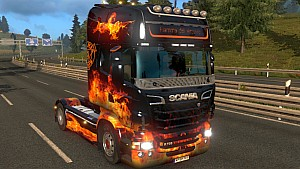Scania RJL Fire of Vesuvio