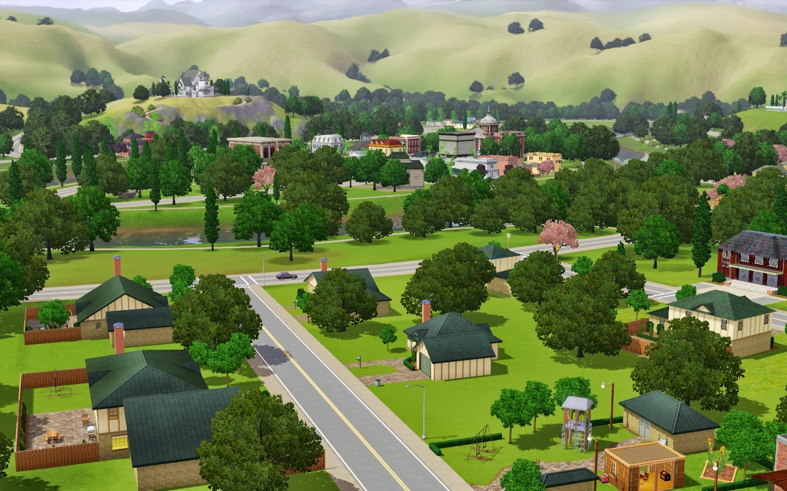 Summer's Little Sims 3 Garden: Riverview List of Empty Lots