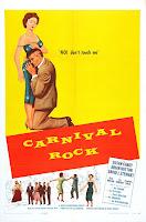 Póster película Carnival Rock