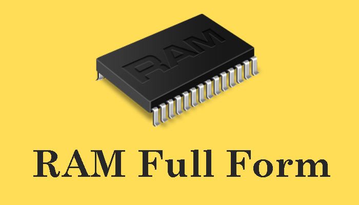 RAM Full Form in Hindi