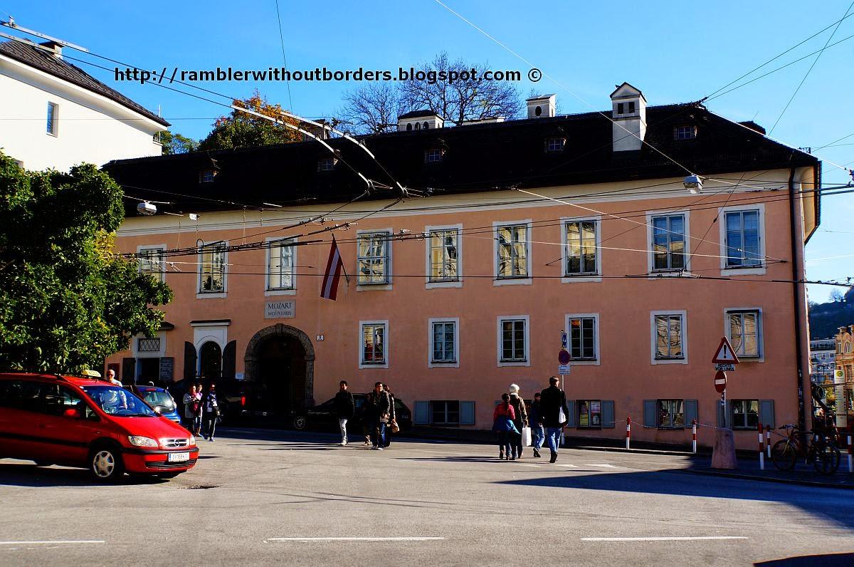 Mozart's Resident (Mozart Wohnhaus), Salzburg, Austria