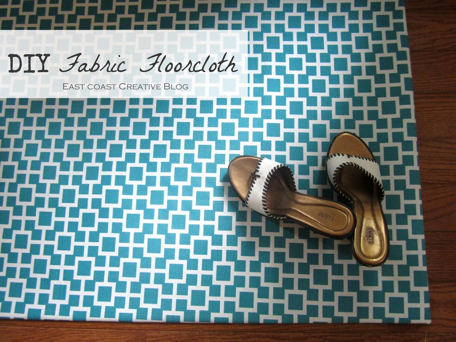 Diy Fabric Floor Cloth Mat