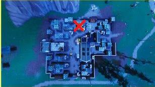 Fortnite, Haunted Hills, Treasure Map, Location
