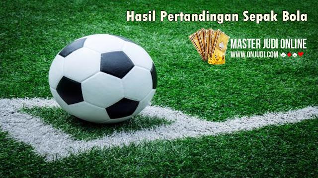Hasil Pertandingan Sepakbola 03 - 04 Juni 2018