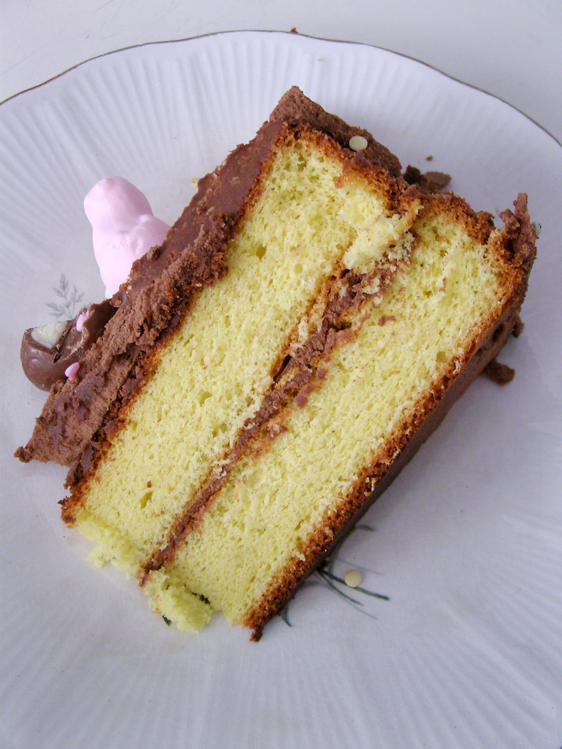 4 ingredients layer cake recipe