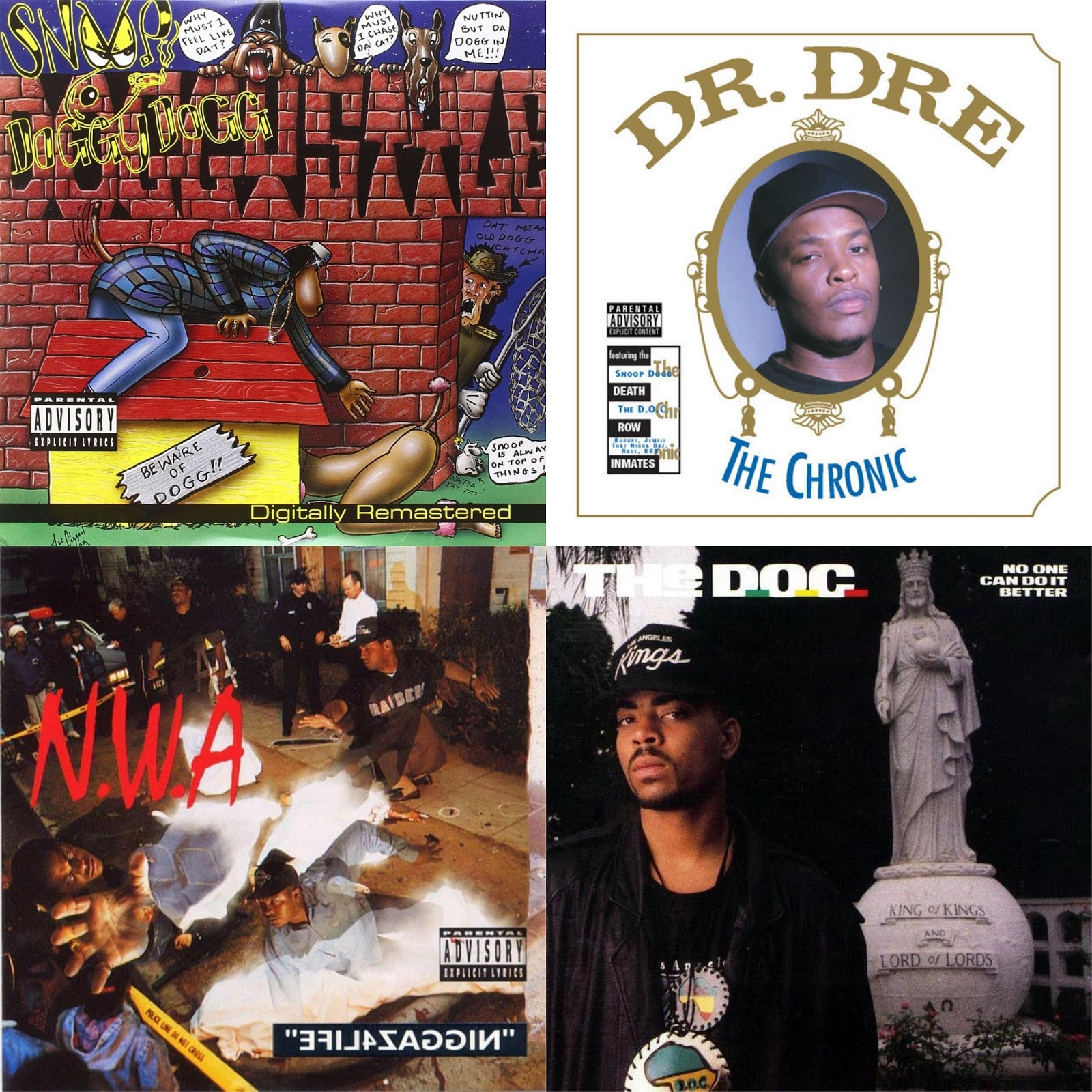 DAR Hip Hop: The 6 Best Albums Produced By Dr  Dre