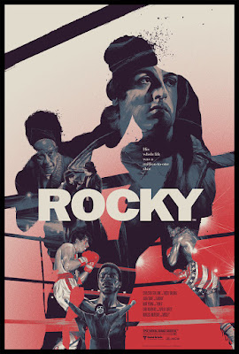 Rocky Variant Screen Print by Gabz x Grey Matter Art