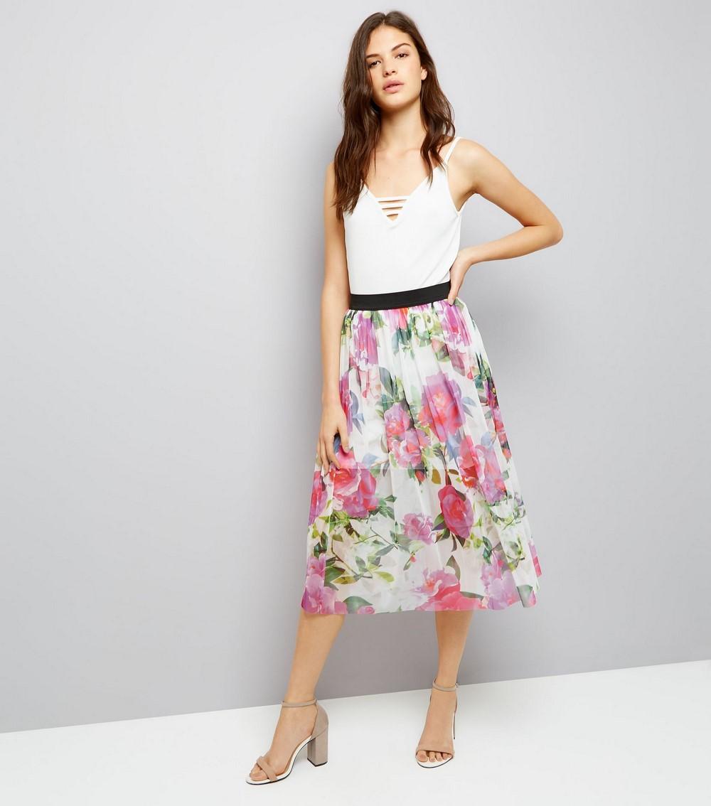 7dd43e14c 60 Faldas Midi Lindas y Originales ¡Las Mejores! | Faldas | Moda ...