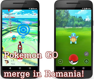 Cum sa joci Pokemon GO in Romania