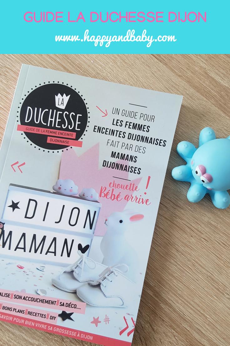 guide la duchesse pour femmes enceintes dijonnaises