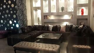 شقة للايجار مفروشة بالكامل بالبنفسج التجمع الاول القاهرة الجديدة امام الواتر واى 175 متر بالتكييفات