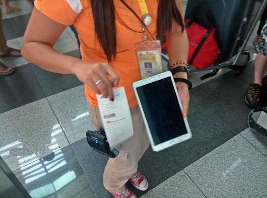 Tablet Check-in: Cebu Pacific         ~          Philippines: Air Travel 101