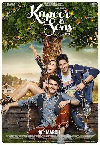 Kapoor & Sons 2016 Hindi Official Trailer 720p HD bollywood movie hindi movie free download or watch online at https://world4ufree.to