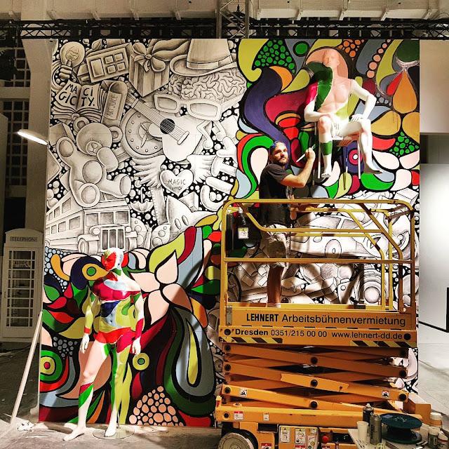Street Art show Magic City (2016) - Drawing and Painting - #magiccitylife Munich