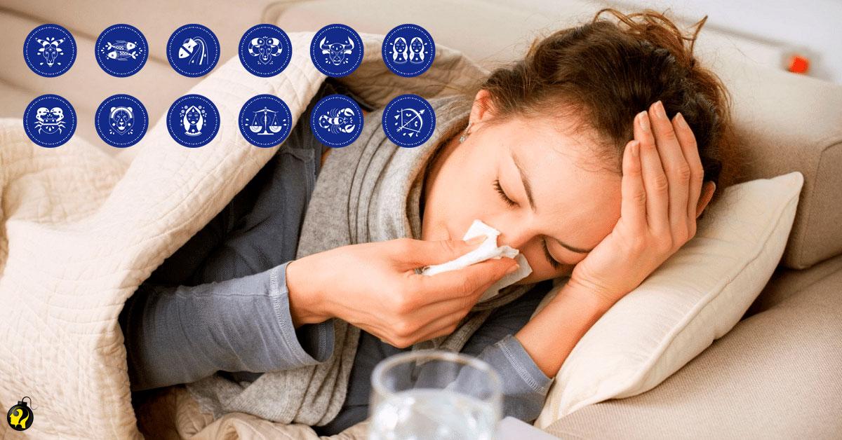 Quais são as doenças mais comuns em cada signo?