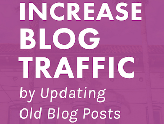 Update your old post And Increase Traffic