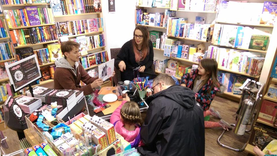 Promotional Event at Harpenden Books, October 2016