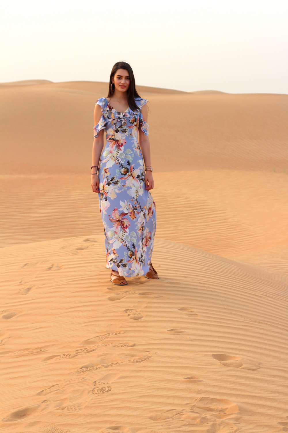 peexo fashion blogger travel dubai desert