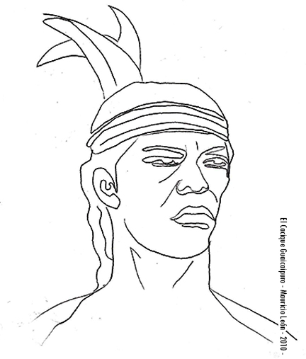 Mauricio León Dibujos A Lápiz Digitalizados Serie Personajes