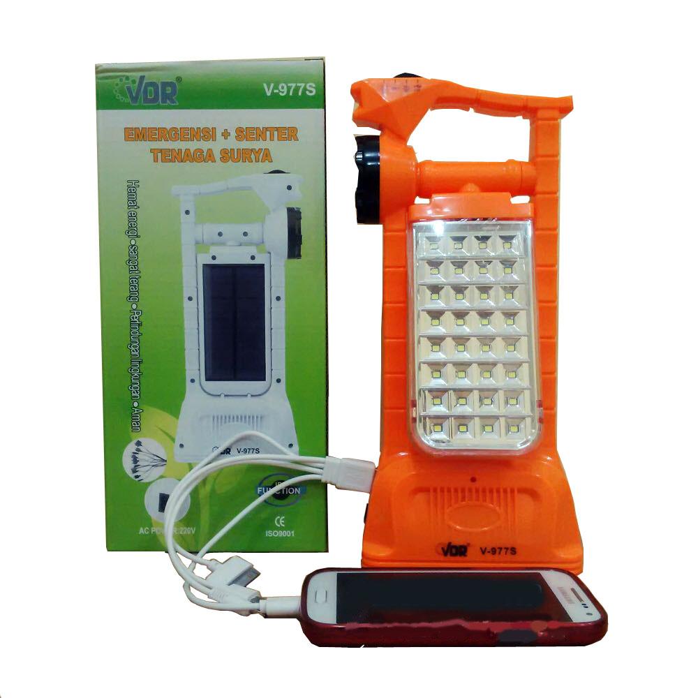 Palugada Online Hyperwebstore Vdr V 977s Senter Lampu Emergency Pc Desktop Mini Sunbio Paket Hemat 2 Powerbank Tenaga Surya