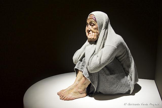 Escultura Hiperrealista en Museo de Bellas Artes - Bilbao, por El Guisante Verde Project