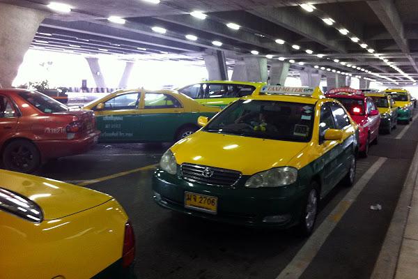 Taxis en Tailandia