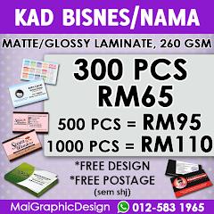 Promosi Kad Bisnes Murah dari MaiGraphicDesign