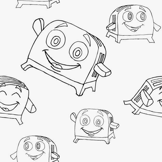 the brave little toaster coloring pages brave little toaster free coloring pages