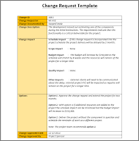 Sample Change request Template