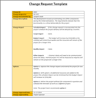 Change Request Template