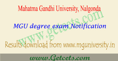 MGU degree supply results 2019-2020 MG university