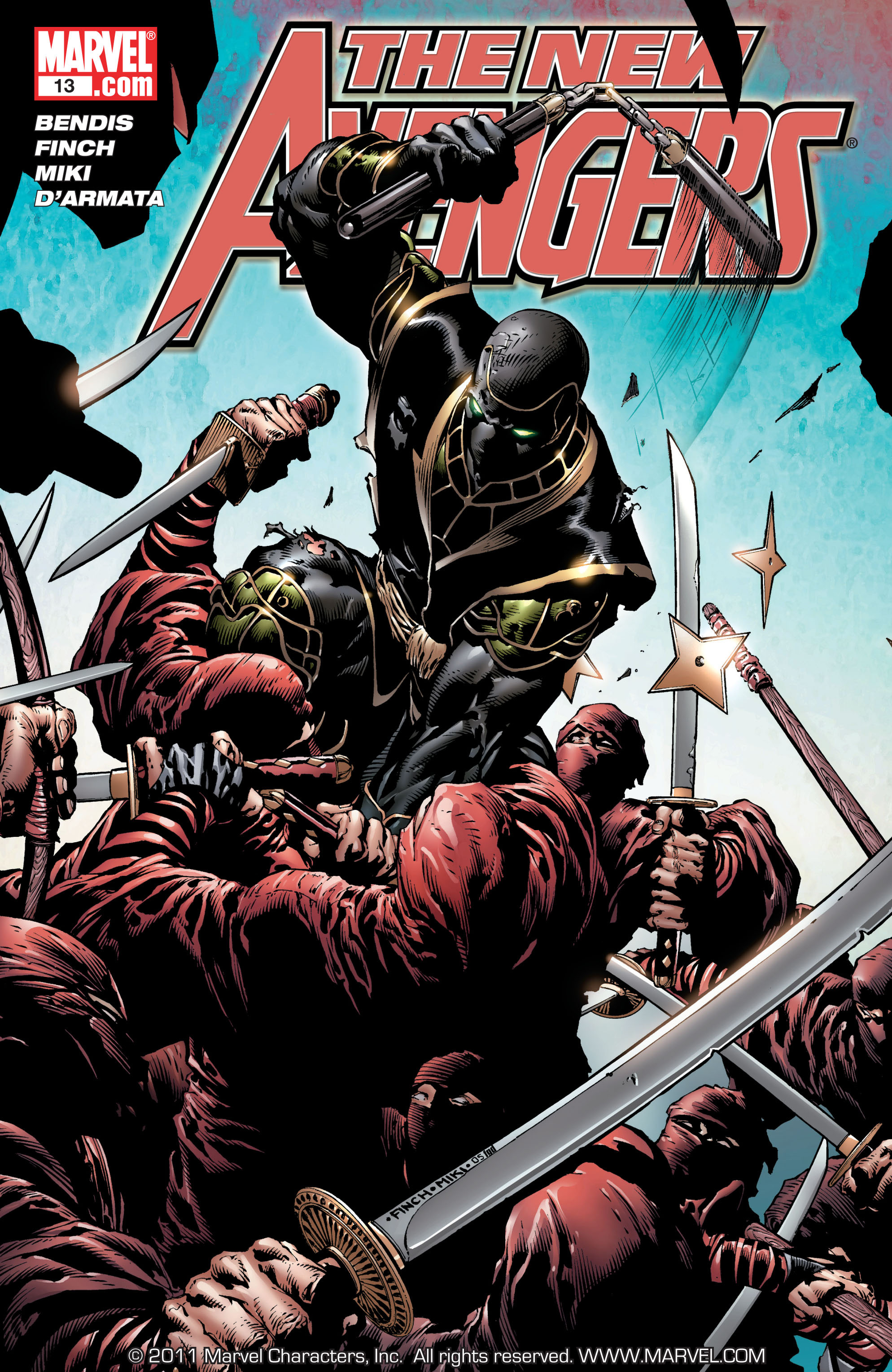 New Avengers (2005) issue 13 - Page 1