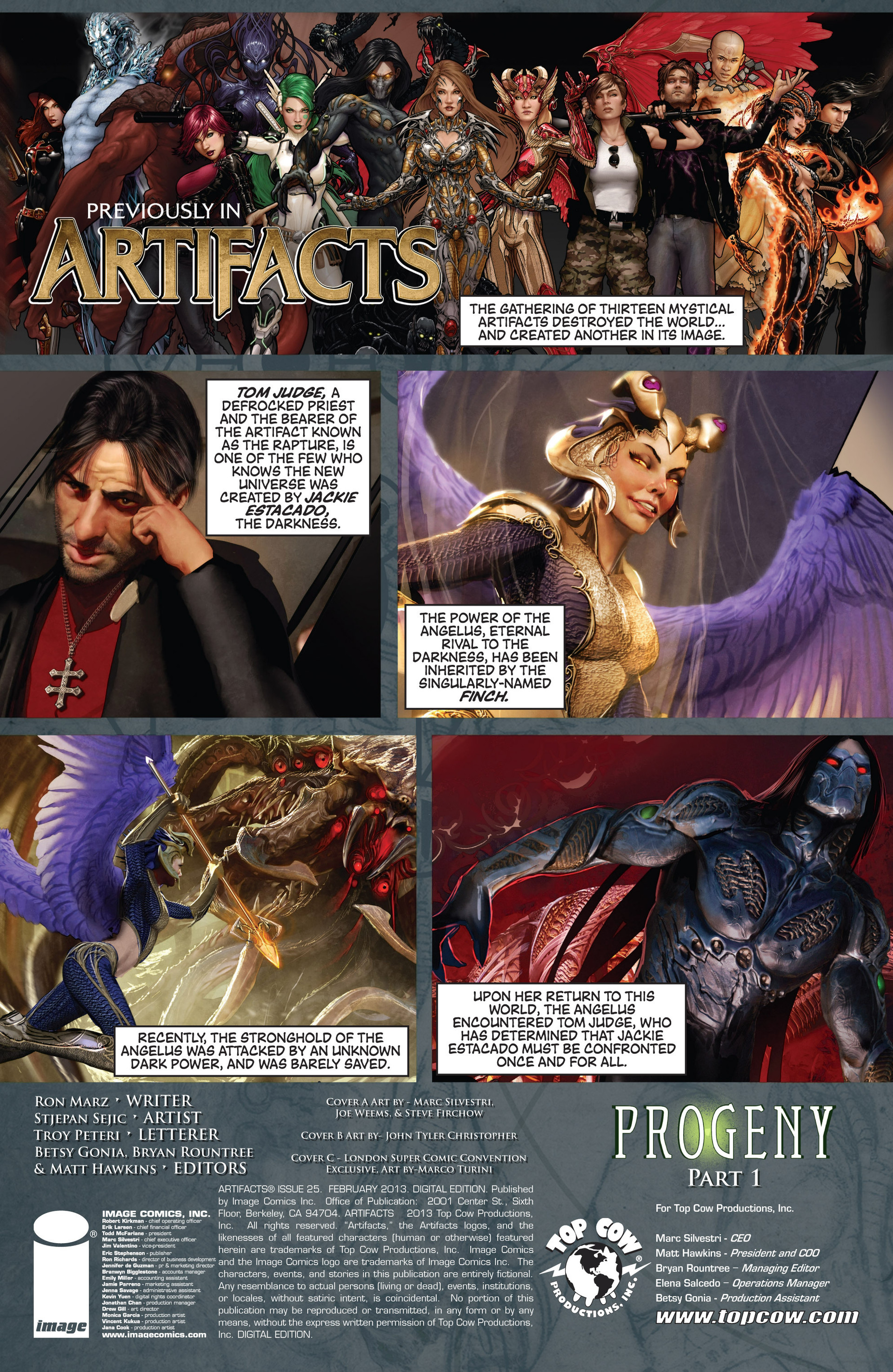 Read online Artifacts comic -  Issue #25 - 2