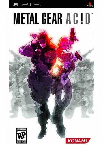 metal gear acid - Metal Gear Acid 2 PSP
